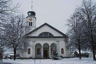 Galgenen - Catholic St. Martin Church at Galgenen