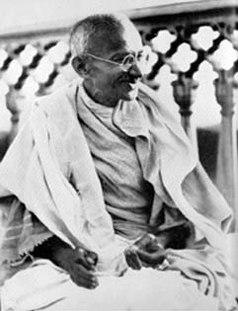Gandhi Allahabad 1931