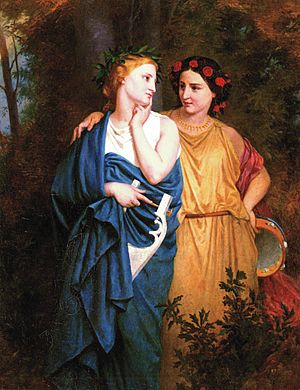 Procne -  Philomela and Procne (Elizabeth Jane Gardner)