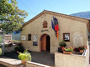 Gars, Alpes-Maritimes - The town hall of Gars