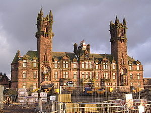 Gartloch Hospital - Main Administration building of Gartloch Hospital, formerly Gartloch Asylum, 2006