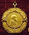 Gaspare morone, medaglia di alessandro VII, 1657, oro.JPG