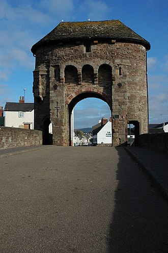 Mary Ellen Bagnall-Oakeley - Gate tower, Monnow Bridge