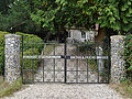 Gates to All Saints Church, Swallowfield.JPG