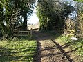 Gateway on Bridleway - geograph.org.uk - 329268.jpg
