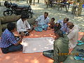 Gathering in a meeting of villagers in an Bangladeshi village 2015 27.jpg