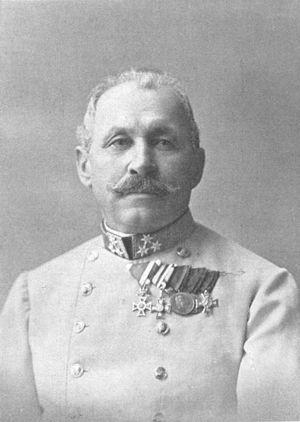Marijan Varešanin - Image: Gd I Marian Varesanin von Vares 1909 Eugen Schöfer