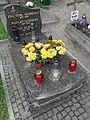 Gdańsk Cmentarz Garnizonowy - grób Ewy Tusk.JPG