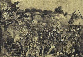 German revolutions of 1848–49 - The Battle of Kirchheimbolanden, 14 June 1849
