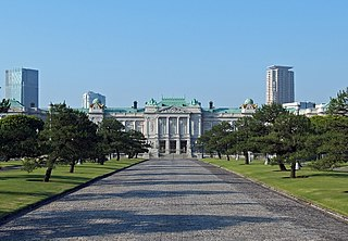 Akasaka Palace one of the two State Guesthouses of Government of Japan