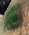 Gelai Volcano at the Lake Natron (Tanzania), satellite image.jpg