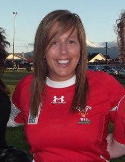 Gemma Hallett Rugby player
