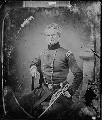 William J. Worth - General Worth by Mathew Brady
