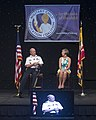 Gen. Martin E. Dempsey and his wife Deanie Dempsey speak during the Military Child Education Coalition's 15th National Training Seminar, 2013.jpg