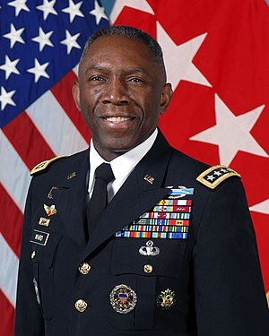 United States Africa Command - Image: General Kip Ward November 2009
