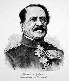 General Heinrich Adolf von Zastrow