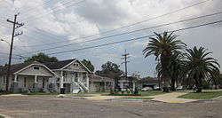 "Gentilly ""Sugar Hill"" section, New Orleans"