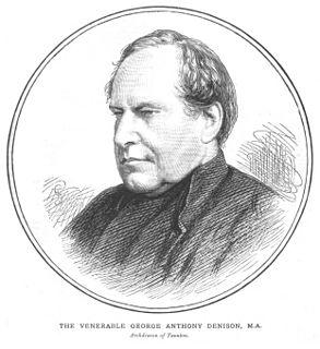 George Denison (priest) British priest