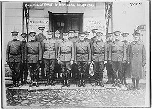 George E. Stewart - Stewart in 1919 in Arkhangelsk