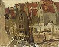 George Hendrik Breitner - Afbraak van de Grand Bazar de la Bourse aan de Nieuwendijk te Amsterdam.jpg