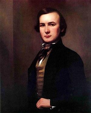 George Henry Durrie - Self-Portrait