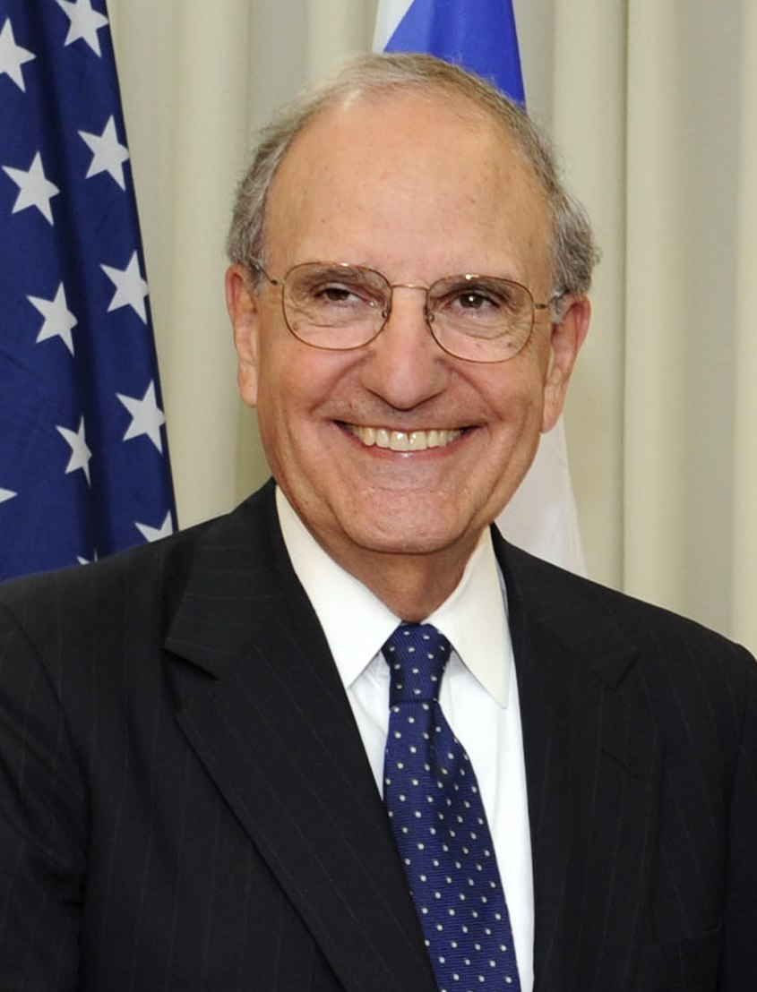 George Mitchell in Tel Aviv July 26, 2009
