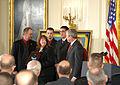 George W. Bush presents Medal of Honor to Jason Dunham's family 2007-01-11.jpg