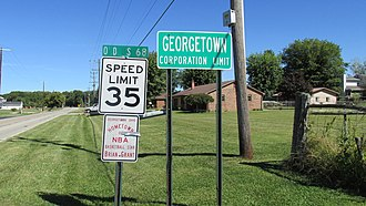 Georgetown, Ohio - Image: Georgetown Ohio 1
