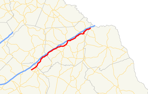 Georgia State Route 59 - Image: Georgia state route 59 map