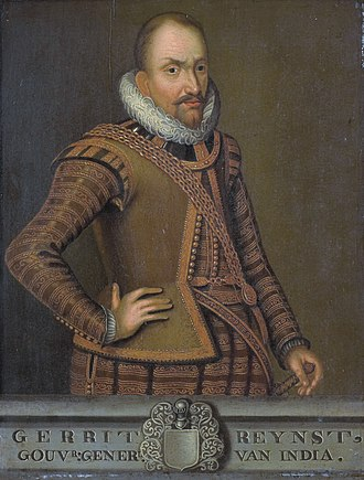 Samuel Blommaert - Portrait of Gerard Reynst, Blommaert's father-in-law