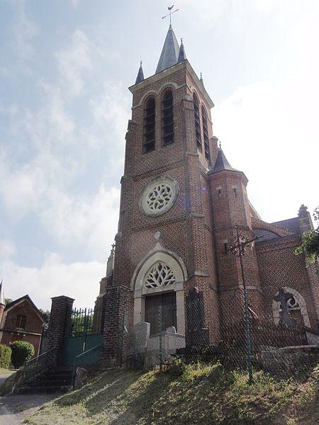 Gercy (Aisne) église