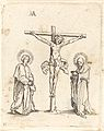 German 16th Century after Albrecht Dürer - The Crucifixion with the Virgin and Saint John.jpg