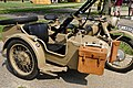 German military WW2 equipment replicas for re-enactment in Fort Harrison State Park, Lawrence, Indiana, US, September 2008 Valerie Everett. BMW motorcycle with machine gun and side car. I want to ride in the side car.jpg
