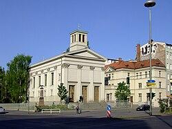 Germany Berlin-Mitte St-Paulskirche.JPG