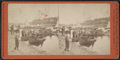 Getting ready for boat rides, from Robert N. Dennis collection of stereoscopic views.png