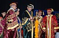 Ghulam Nabi Azad lighting the lamp to inaugurate the 95th Annual Day and Convocation of Lady Hardinge Medical College and Associated Hospitals, in New Delhi on April 21, 2011.jpg