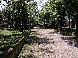 I Giardini di Via Porta Agrippina. Secondo alcune leggende locali, la Porta (oggi scomparsa) sarebbe stata costruita e dedicata quindi a sua madre Agrippina, dall'imperatore Nerone
