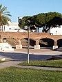 Giardini murati particolare anfiteatro sede di eventi estivi.jpg