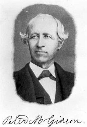 Wealthy (apple) - Peter Gideon (1820-1899), creator of the cultivar