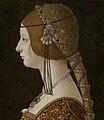 Giovanni Ambrogio de Predis - Blanca Maria Sforza (c. 1493, National Gallery of Art) crop.jpg