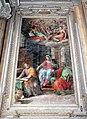 Giovanni balducci detto il cosci, affreschi della cappella cavalcanti, maria narra ai ss. luca e paolo episodi della vita di gesù, 01.jpg