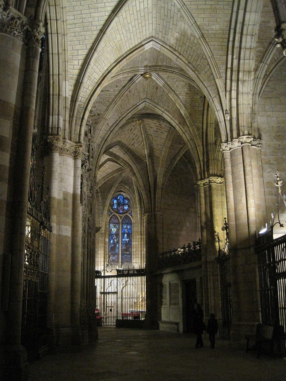 Girola de la catedral de León