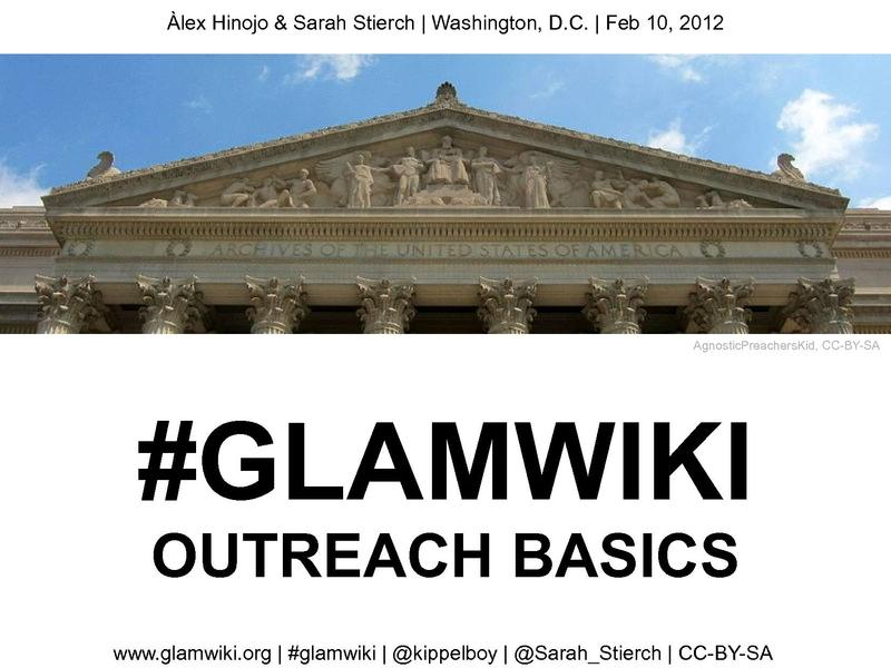 File:Glamcamp DC glamwiki outreach basics.pdf