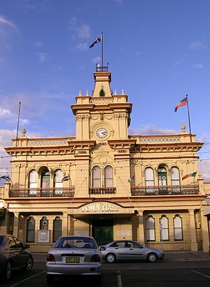 Glen Innes, New South Wales - Town Hall, Glen Innes, NSW.