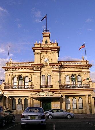 Glen Innes, New South Wales - Town Hall, Glen Innes, NSW.