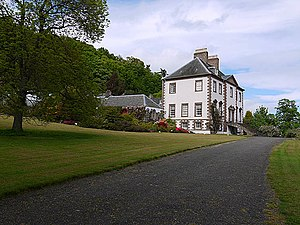 Robert Craigie, Lord Glendoick - Glendoick House