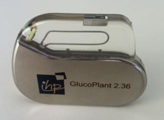 Biosensor - Image: Glucose biosensor implant