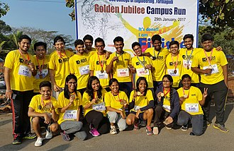 Goa Engineering College - Image: Goa Engineering College Students posing with medals after the Golden Jubilee Run