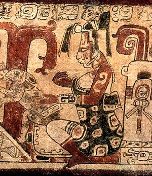 Maya moon goddess - Image: Goddess O Ixchel