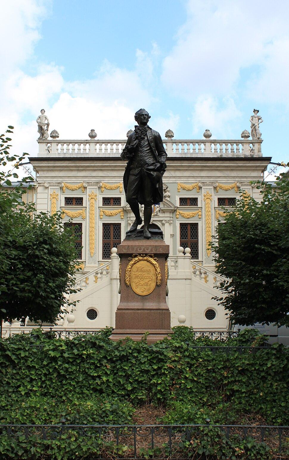 Goeothe Denkmal Leipzig